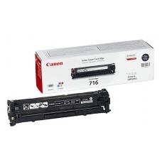 Картридж Canon Cartridge 716Bk (черный)