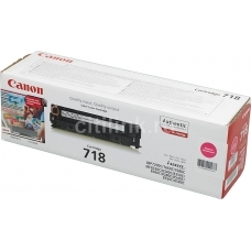 Картридж Canon 718m (пурпурный)