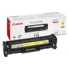Картридж Canon 718Y (желтый)