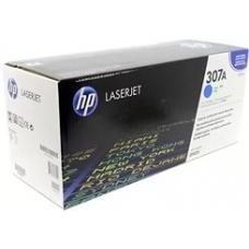 Картридж HP CE741A (голубой)