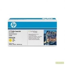 Заправка картриджа HP CE262A