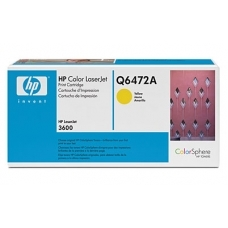 Картридж HP Q6472A (желтый)