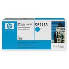 Картридж HP Q7581A Cyan (голубой) (голубой)