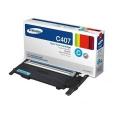 Картридж Samsung CLT-C407S (голубой)