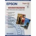 S041328 Epson Полуглянцевая фотобумага, A3+, 20 листов, 251 г/м2