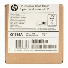 Q1398A Универсальная документная струйная бумага HP 80г/м– 1067 мм x 45,7 м (42 д. x 150 ф.)