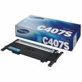 Картридж Samsung CLT-407-серия голубой для CLP-320/325/CLX-3185 оригинал CLT-C407S