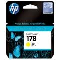 Картридж HP CB320HE Photosmart C5383/C6383 № 178 стандартный желтый