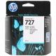 Картридж HP B3P17AHP №727 с фото черными чернилами для принтеров Designjet,  февр.2016