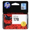 Картридж HP CB317HE Photosmart C5383/C6383 № 178 стандартный фото-черный
