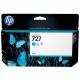 Картридж HP B3P19A HP №727 с СИНИМИ чернилами для принтеров Designjet, 130 мл