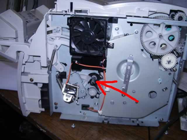 Схема принтер hp 1000